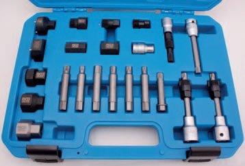 Hlavice na volnoběžky alternátorů 22 ks - BGS 4247