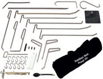 Přípravky karosářské pro opravu vmáčklého plechu karoserie 30 dílů - BGS 1639