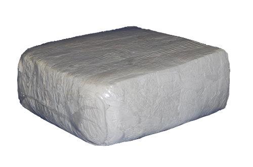 Čistící hadry, bílý textil 10kg- bavlna