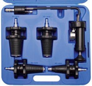 Pumpa pro tlakování chladící soustavy, kónické adaptéry - BGS 8096