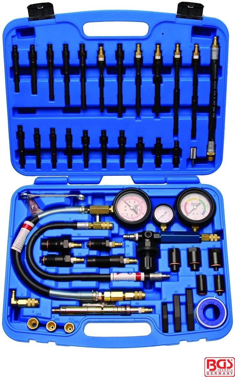 Měřič komprese motorů a tlaku benzínu - BGS 8401