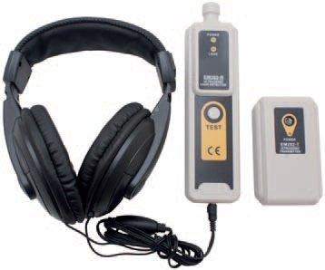 Detektor ultrazvukový pro zjištění netěsnosti plynových, vzduchových a vodních systémů