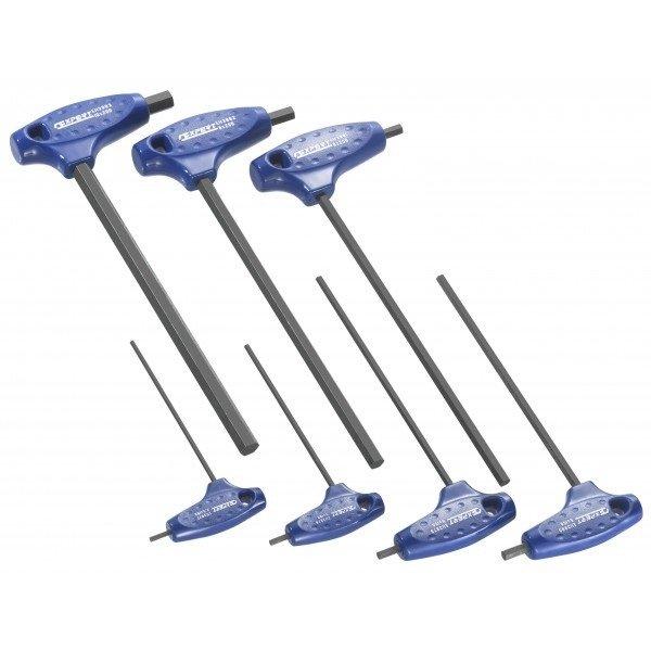 Sada zástrčných klíčů Imbus s rukojetí 7 dílů - Tona Expert (E121202T)
