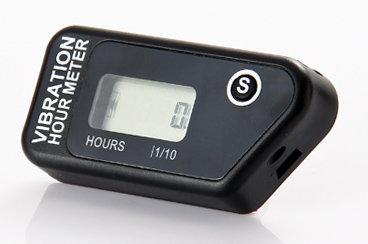 Vibrační měřič motohodin