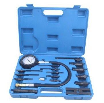 Kompresiometr, tester komprese diesel, 16 kusů - QUATROS QS30196