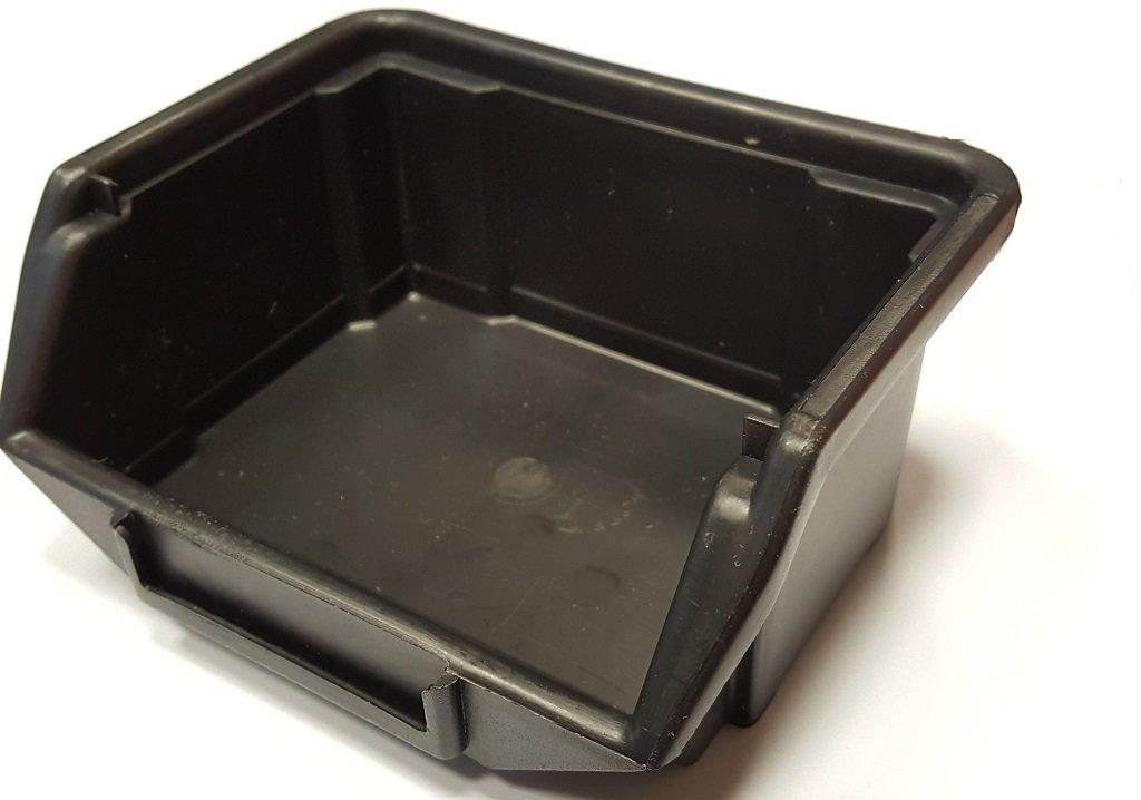 Plastový box 90x105x50 černý mini
