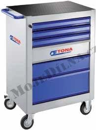 6zásuvková montážní skříň - 3 moduly na zásuvku; 59,5 kg- Tona Expert E010109T