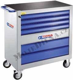7 zásuvková montážní skříň XXL - 4 moduly na zásuvku; 95kg- Tona Expert E010101T