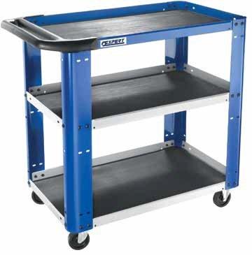Celokovový pojízdný manipulační stolek - Tona Expert (E010106)