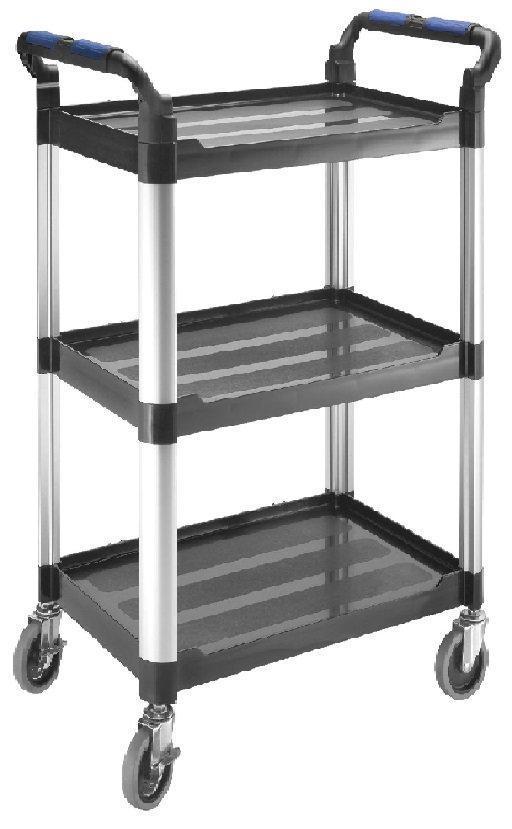 Pojízdný manipulační stolek hliník-plast - Tona Expert E010136