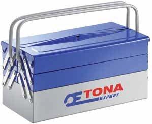 Kovová rozkládací přepravka na nářadí 535 mm - Tona Expert (E010201T)