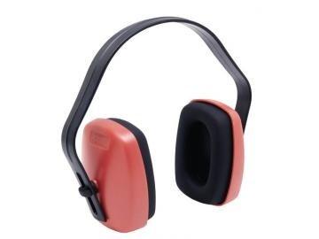 Sluchátka ochranné- červená