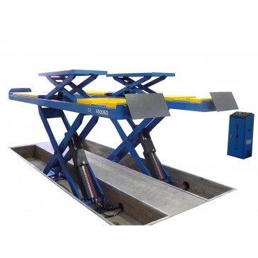 Nůžkový zvedák 3500 kg pro geometrii - Golemtech