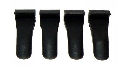Plastové ochrany na čelisti - sada 4ks