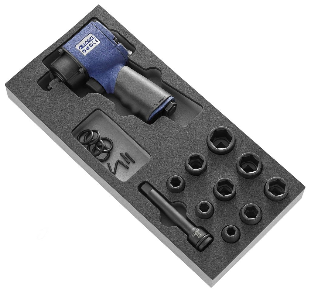 "Sada kompaktního pneumatického utahováku 1/2"" (11ks)-Tona Expert E231101"