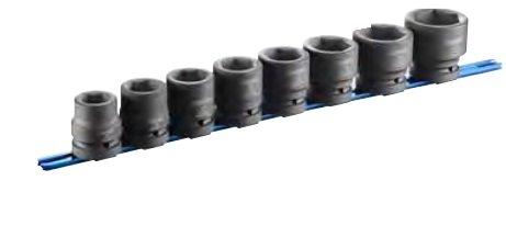 "Sada 1"" standarních rázových hlavic (8ks) - Tona Expert E041647"