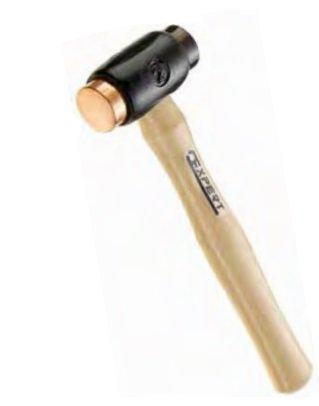 Palice s měděnou a koženou údernou plochou 95 mm - Tona Expert E151002