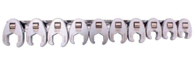 Klíče ploché otevřené 10ks- BGS 1756