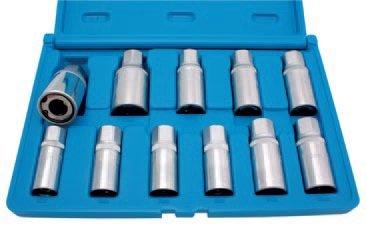 Vytahováky závitových štěftů, 11 ks - BGS 65515