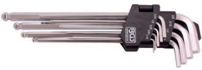 Klíče imbus, palcové 9ks - BGS 799