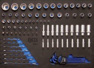 Modul - hlavice, klíče, bity, PALCOVÉ 99ks - BGS 4020