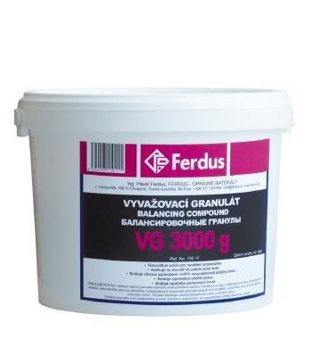 Vyvažovací granulát (prášek) VG (3000; 5000 g) - Ferdus