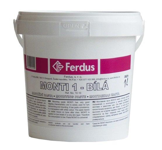 Montážní pasta MONTI bílá 1000ml - Ferdus