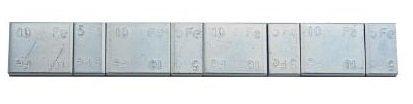 Samolepící závaží 4x5g + 4x10g, pásek 60g, Zn - 1 kus