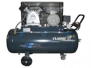 Pístový kompresor 50l 2,2kw- PRESS-HAMMER Classic 17/50