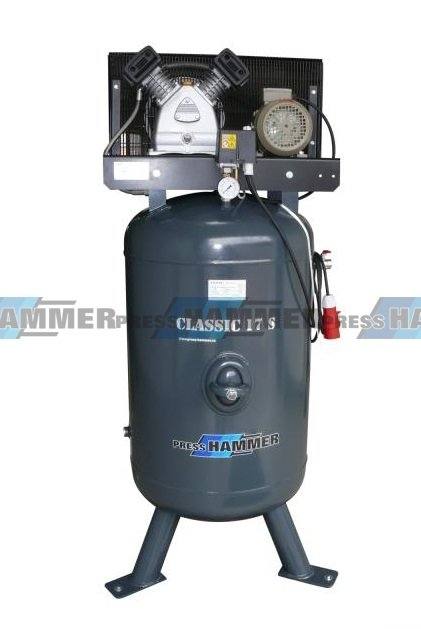 Pístový kompresor 270l 2,2kw- PRESS-HAMMER Classic 17 S/270