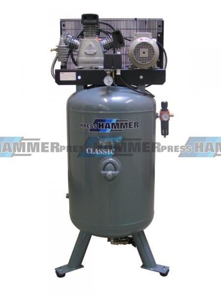 Pístový kompresor 270l 3kw- PRESS-HAMMER Classic 25 S/270