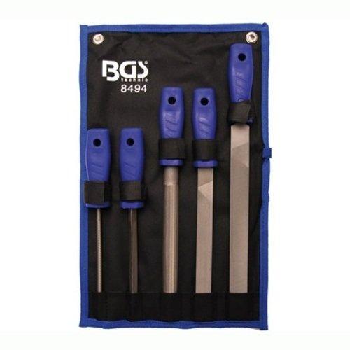 Pilníky dílenské 150-250 mm, sada 5 dílů - BGS 8494