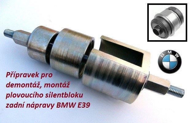 Přípravek na plovoucí silentblok BMW E39