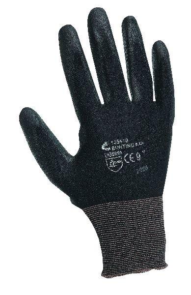 Rukavice BUNTING s vrstvou polyuretanu černé, vel. XL-10