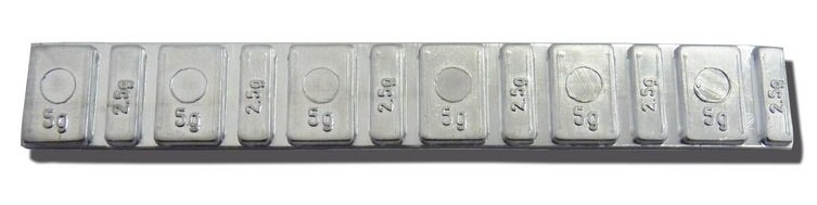 Samolepící závaží MOTO Barreta 45g - pásek NORTON - 1 kus