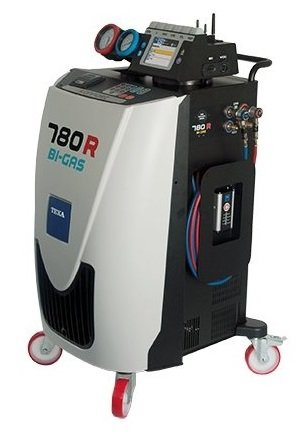 Automatická plnička klimatizace TEXA Konfort 780R BI–GAS