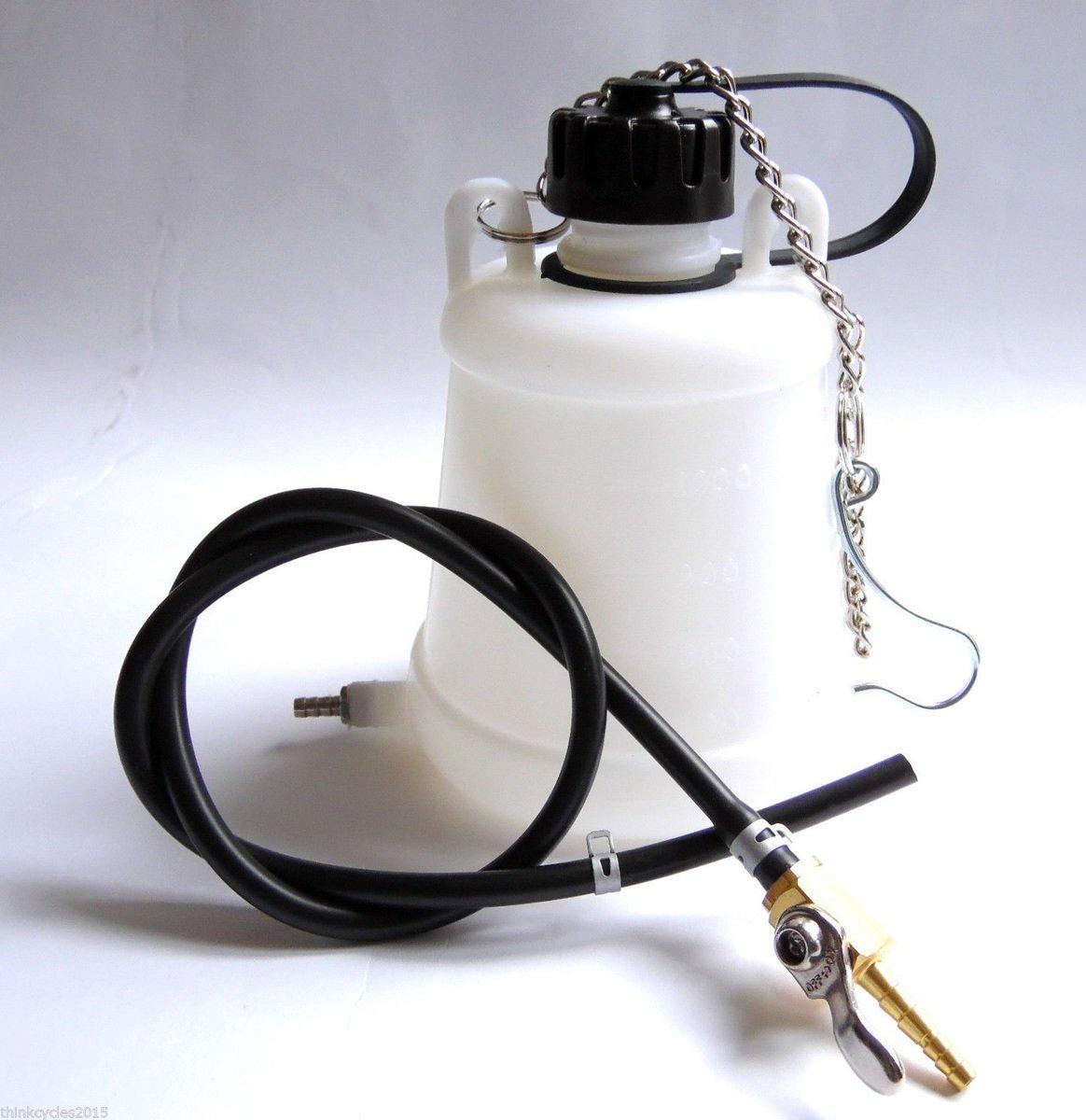 Pomocná nádobka na benzín, nádržka 1L + kohout
