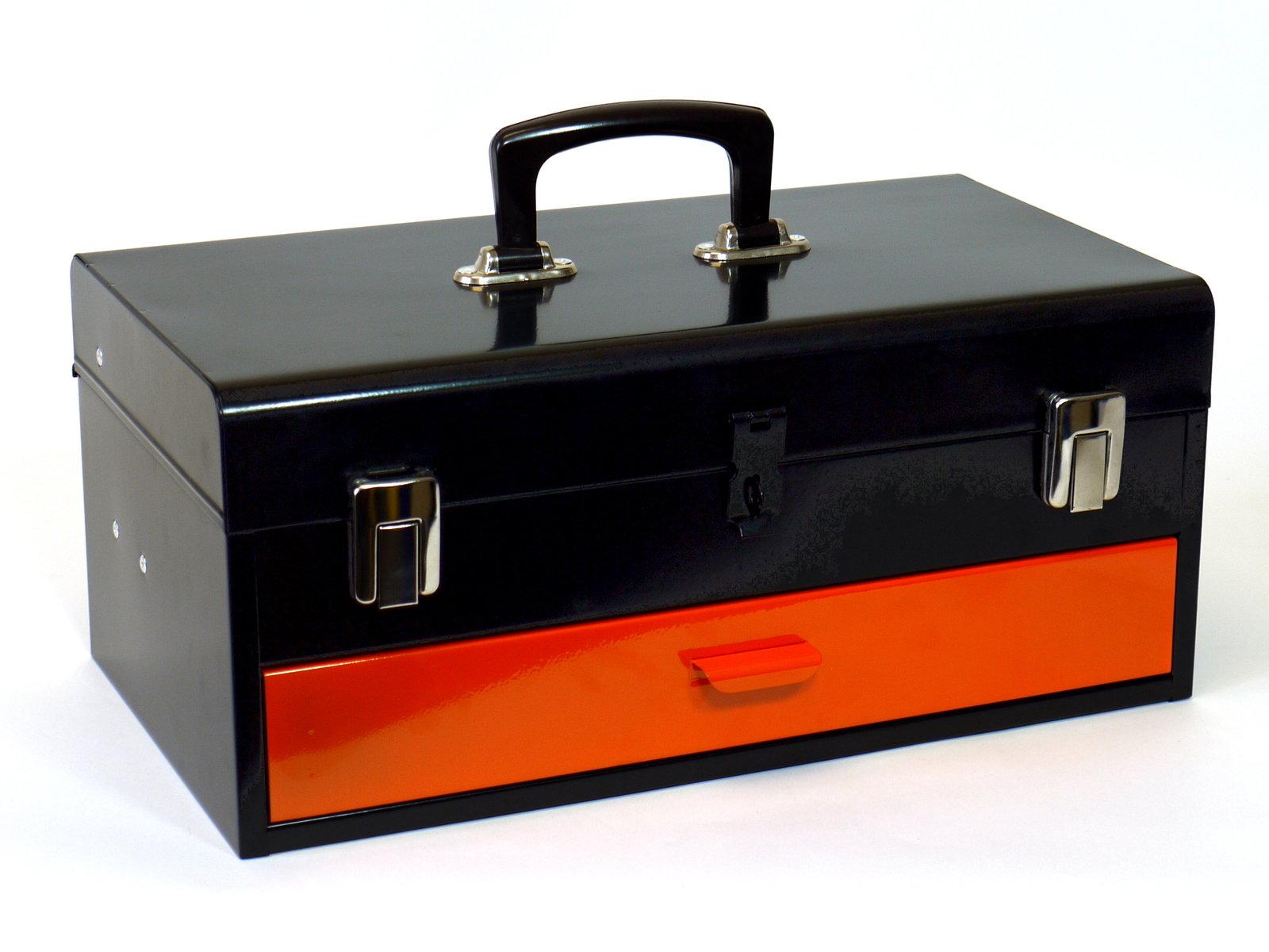 Přenosný montážní kufr s pořadovými zásuvkami 450x275x225mm - MARS (6080)