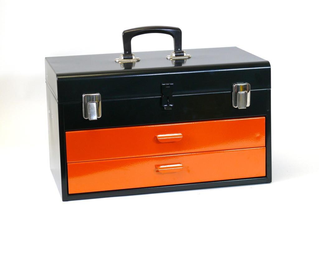 Přenosný montážní kufr s pořadovými zásuvkami 450x275x295mm - MARS (6081)