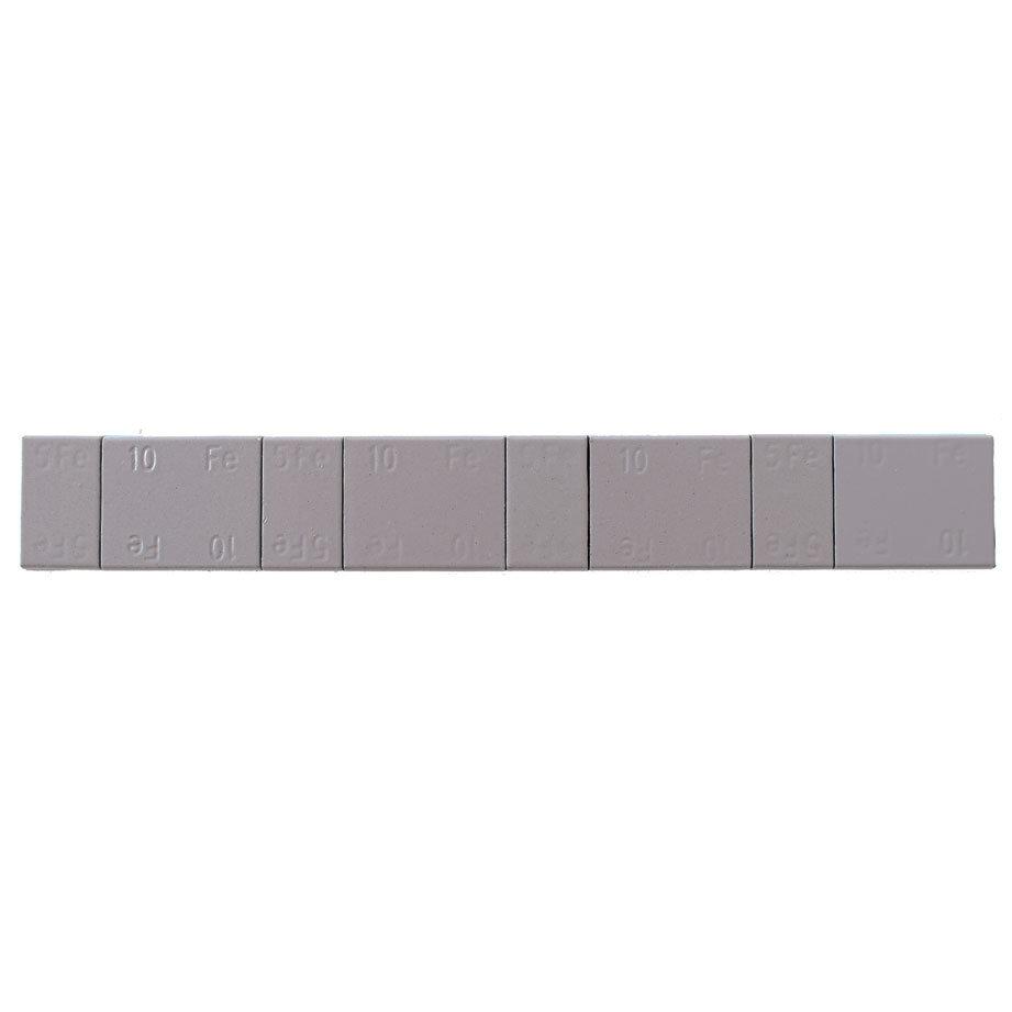 Samolepící závaží 4x5g + 4x10g, pásek 60g, šedý lak - 1 kus