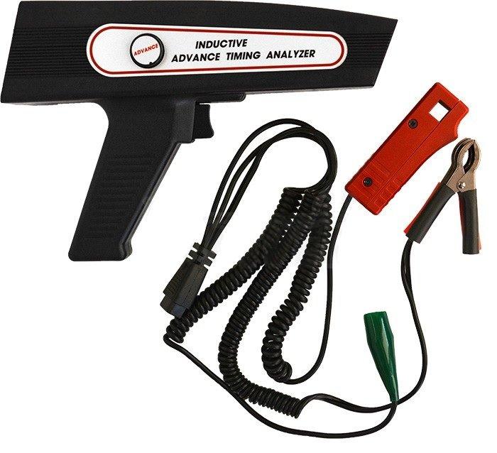 Stroboskopická lampa pro benzinové motory s digitálním displejem
