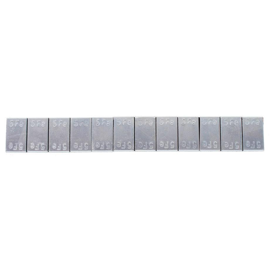 Samolepící závaží 12x5g, pásek 60g, Zn - 1 ks