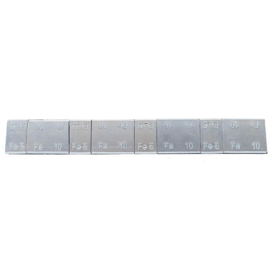 Samolepící závaží 4x5g + 4x10, pásek 60g, Zn, pásek NORTON - 1 kus