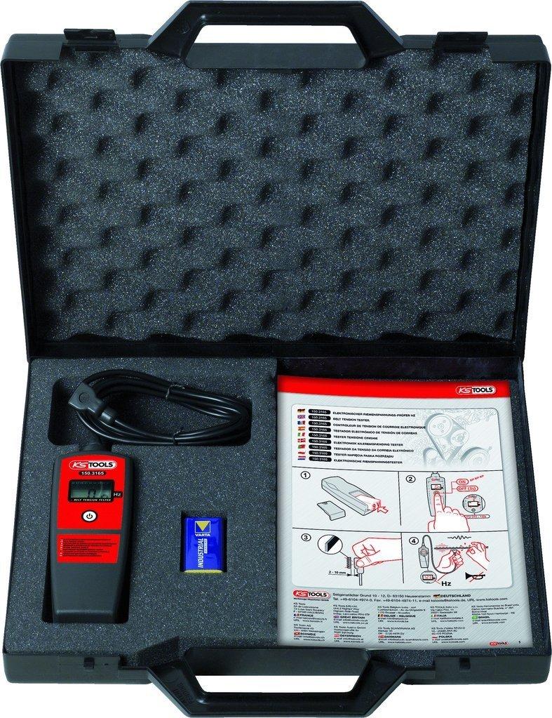 Elektronická zkoušečka napnutí řemene- akustická KS TOOLS