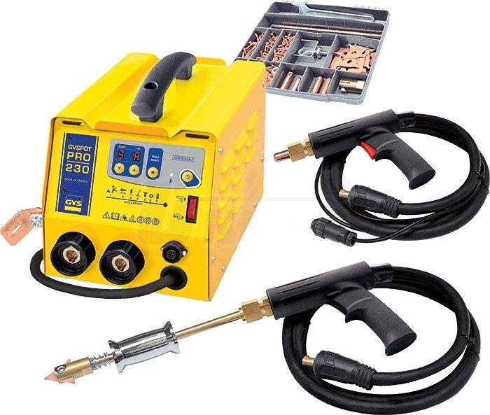 Spotovací přístroj pro opravy karosérií GYSPOT PRO 230