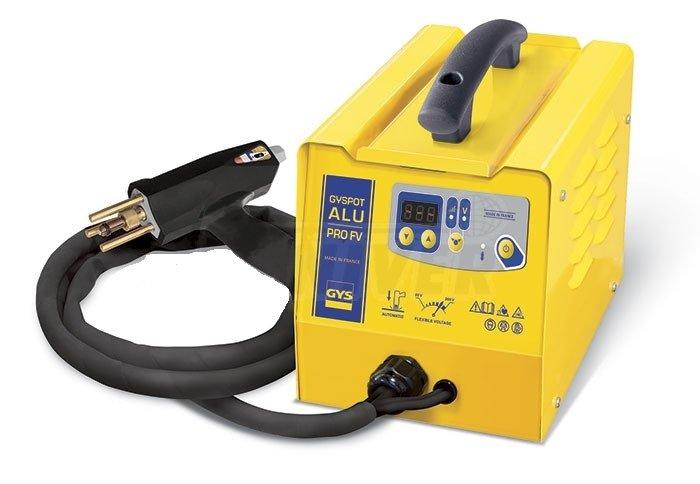 Spotovací přístroj pro opravy hliníkových částí karosérií GYSPOT ALU PRO FV