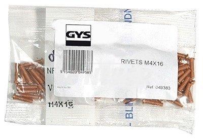 Navařovací vytahovací závitové kolíčky M4 x 16 GYS 049383 sada 100ks