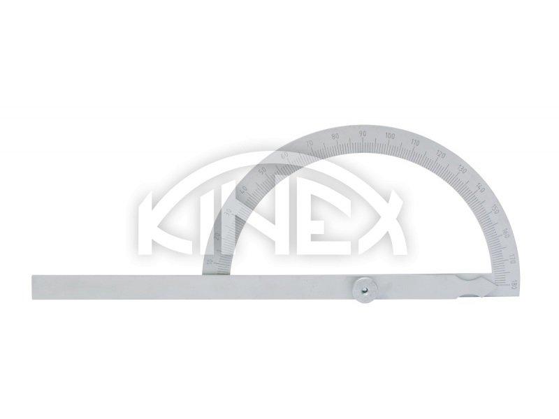 Úhloměr KINEX obloukový 120x200mm