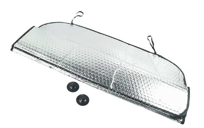 Ochranná clona za přední sklo auta 145x70cm