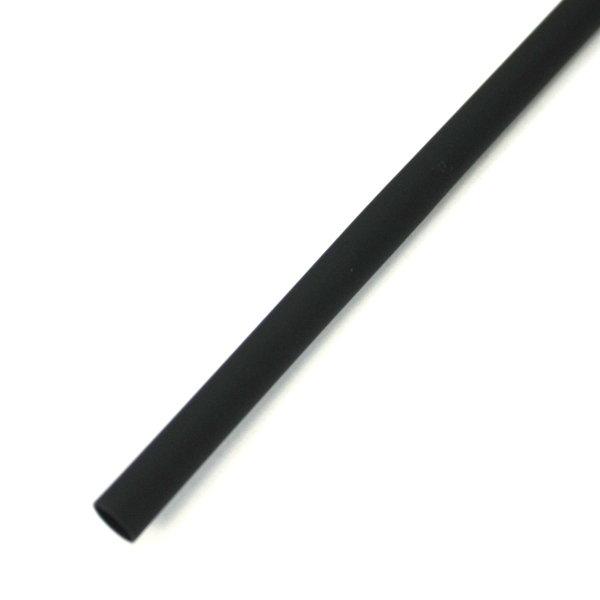 Bužírka smršťovací polyetylen 1m 1,6/0,8 černá